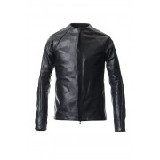 Jacket Calf Leather-Black-1