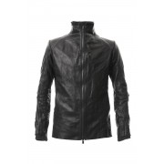 Leather jacket cow leather - Black-Black-1