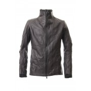Leather jacket cow leather - Charcoal-Charcoal-1