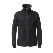 Entrefino Type Mouton jacket-Black-1