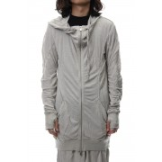 MOPH HOOD SWEAT-Clody Grey-XS