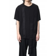 Hang loop stop T-shirts-Black-2