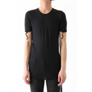 17SS SHORT SLEEVE CUT&SEWN-BLACK-S