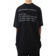 SHORT SLEEVE BIG T  with ARM PARTS-Black-1