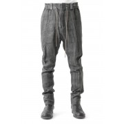 Easy Pants Linen Denim Charcoal Dyed-Charcoal-1