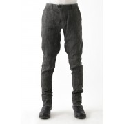 Slim Pants Black x Black Denim-Black-1