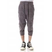 CROPPED PANTS Gray-Gray-3