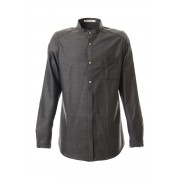 Wool Twill - SH51-LW4-Gray Black-0