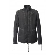 Double weave twill cold dyed shirt Jacket-Black-1