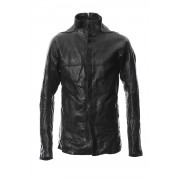 Bonding Horse Leather Shirt-Black-1