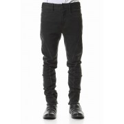 Over Cold Dyed Curve Slim Pants Charcoal Khaki-Charcoal Khaki-1