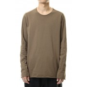 Mini Fleece L/S T-shirts-Khaki Brown-Free