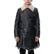 Mouton Coat-Black-1