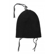 Knit Hat -Black-FREE