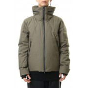 Water-repellent Cotton Down Jacket-Olive Drab-1
