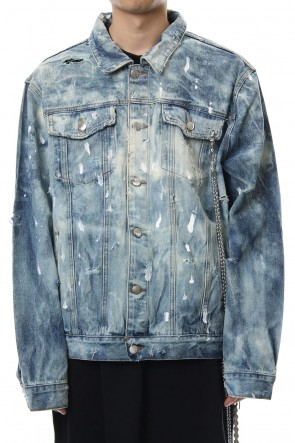 CAVIALE 18-19AW Distressd / Washed Denim Jacket