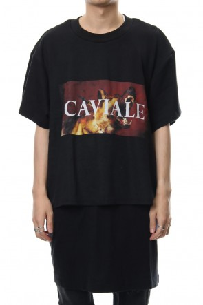 CAVIALE 18-19AW Double Layered T-shirt