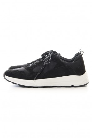 FACTOTUM 19SS Combination Sneaker - Black