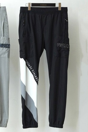 DIET BUTCHER SLIM SKIN 18-19AW Embroidery Nylon Pants