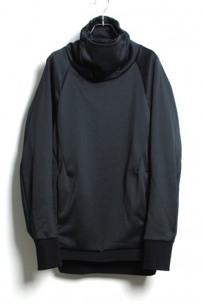 CIVILIZED 19-20AW COVERED NECK L/S BLACK
