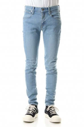 "FACTOTUM 19-20AW E denim skinny pants ""WILLIAM"" - L.indigo"