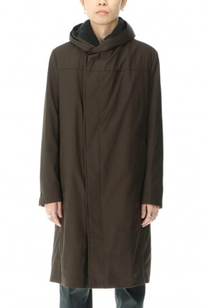 "STEPHAN SCHNEIDER 20-21AW Hooded Coat ""Index"""