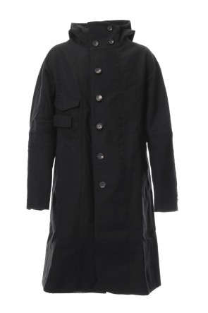 ZIGGY CHEN 18-19AW Hooded Wool Coat 0M1831116