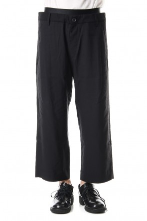 ZIGGY CHEN 19-20AW Waist Layered Pants