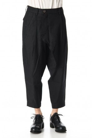 ZIGGY CHEN 20SS Asymmetric Cropped Pants