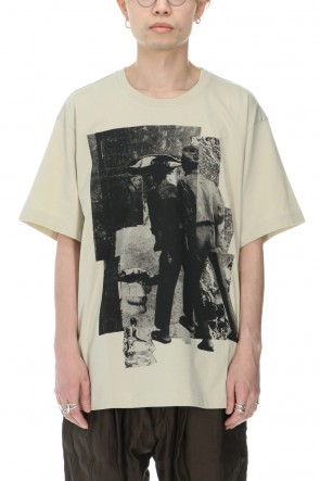 ZIGGY CHEN 21SS Oversized Front Graphic T-shirt