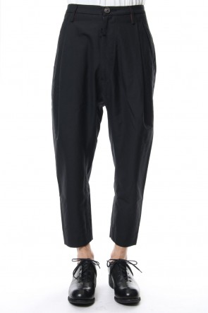 ZIGGY CHEN 18-19AW Tuck Cropped Pants