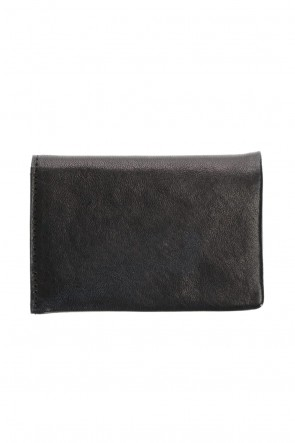 PATRICK STEPHAN Classic Leather card case 'minimal' shine