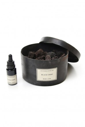 MAD et LEN Classic Pot Pourri Lava Rock Grande Black Uddu