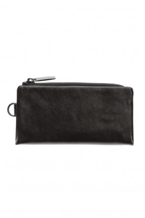 PATRICK STEPHAN Classic Leather long wallet 'minimal' shine 2