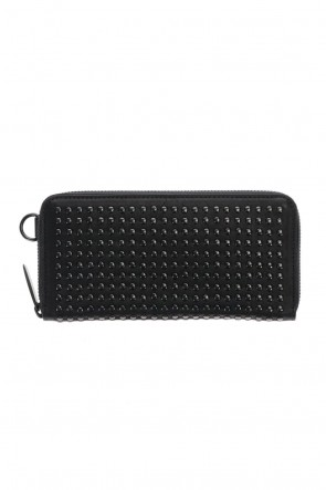 PATRICK STEPHAN Classic Leather long wallet fold 'all-studs' 2 DAL