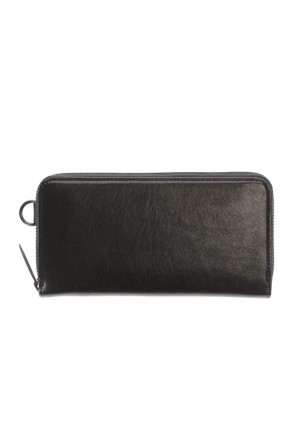 PATRICK STEPHAN Classic Leather long wallet fold 'minimal' shine 2