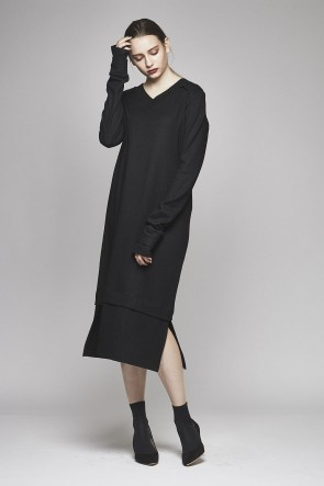 AF ARTEFACT 17-18AW V Neck One Piece AL-1265
