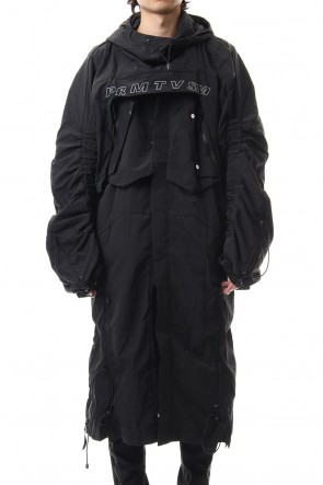 HAMCUS 19-20AW Raven V1 Dis Integration Windbreaker