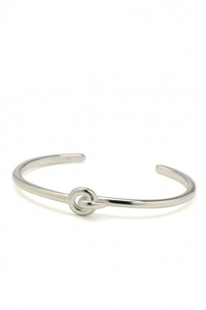 IVXLCDM  BOND BANGLE (SILVER)