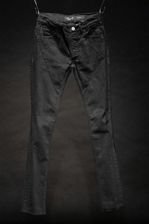 "FAGASSENT  16SS ""DS2 BLACK"" Denim Pants"