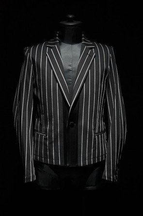 GalaabenD 16SS GalaabenD 16S Tuck Stripes Stretch Jacket BLACK