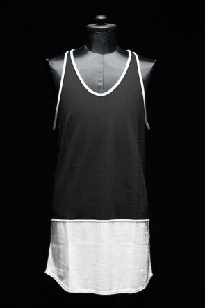 DIET BUTCHER SLIM SKIN 16SS DIET BUTCHER SLIM SKIN [DBSS] 16S Bi Color Tank Top