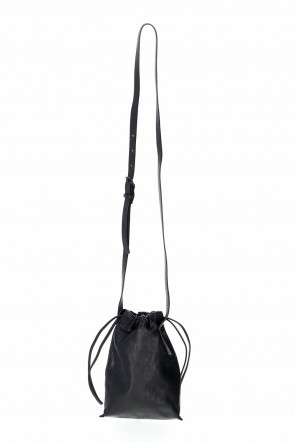 PATRICK STEPHAN Classic Leather cell phone bag 'drawstring'
