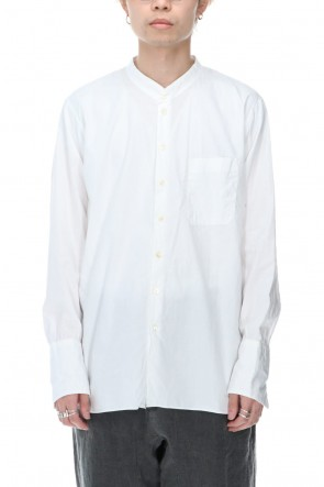KLASICA 20-21AW 3 Button Cuffs Shirts White