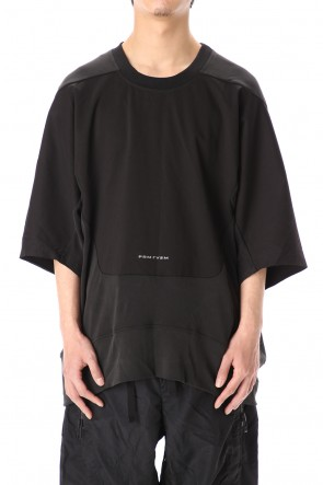 HAMCUS 20SS GEO PANEL LOUNGE T-SHIRT