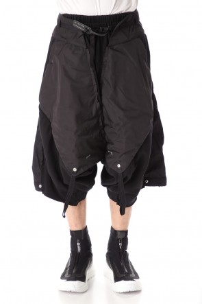 HAMCUS 20SS DUNE RAIDERS MULTI LAYERED DROP CROTCH PANTS