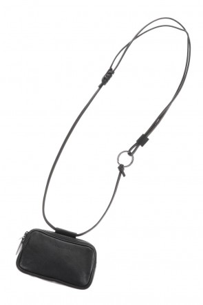 PATRICK STEPHANClassicLeather micro shoulder bag 'double zip'