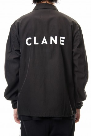CLANE HOMME 19SS CLANE COACH JACKET Black