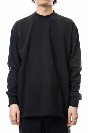 CLANE HOMME 19SS LONG SLEEVE T/S Black