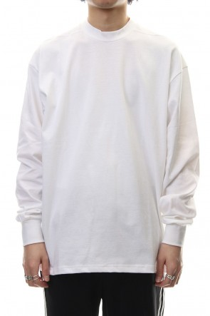 CLANE HOMME 19SS LONG SLEEVE T/S White